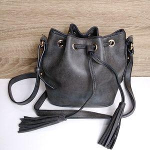 Moda pull string crossbody purse bag